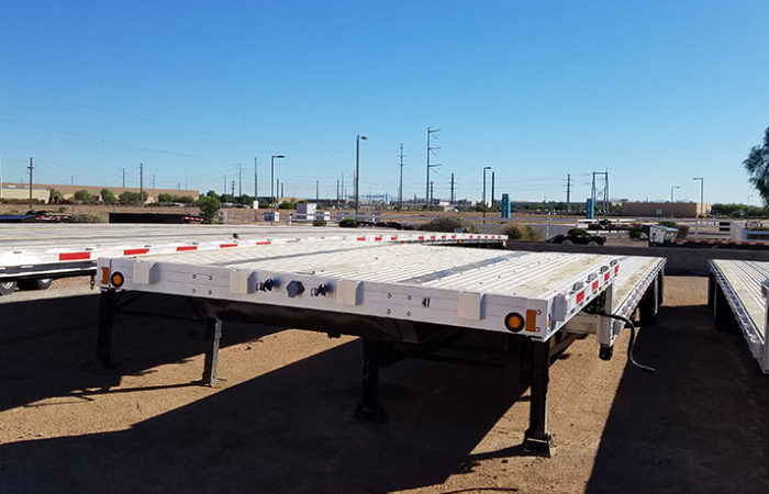 48' drop deck trailer