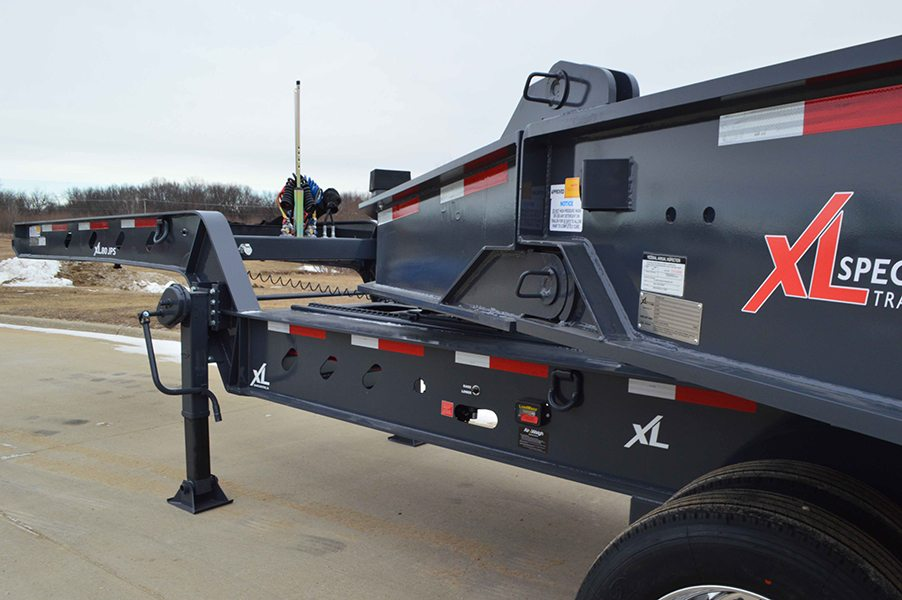 2018 Xl Specialized 65 Ton Lowboy With Jeep Amp Booster