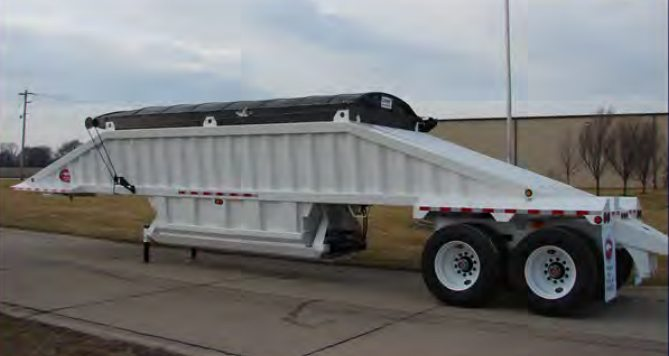 Belly Dump Tarps For Sale Amp Installed Midco Sales