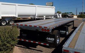 53 x 102 Combo Flatbed Trailer