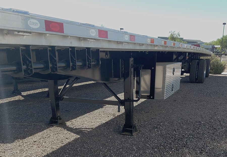 2018 Dorsey 53x102 flatbed inv 3 2018 dorsey combo giant flatbed trailer 53' x 102\