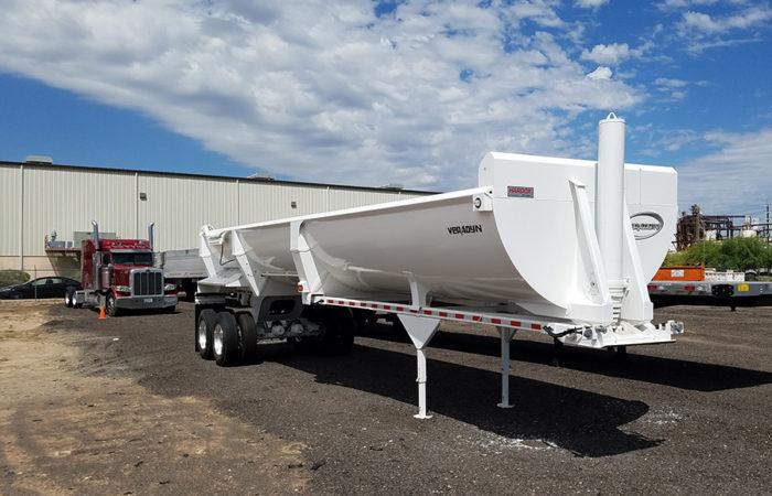 2018 veradyn end dump trailer
