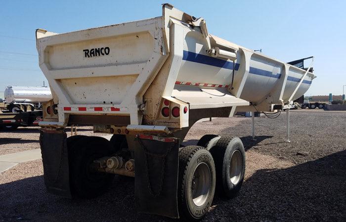 Used Ranco end dumps