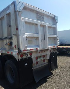 used aluminum end dump