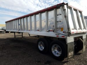 Used Mate End Dump Trailer