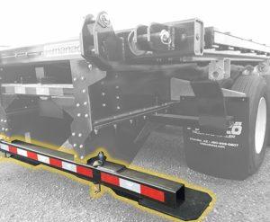 fold out bumper for forklift kit