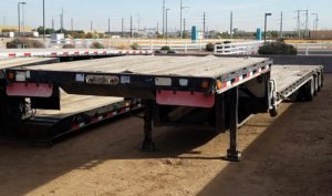 Used Tri Axle Drop Deck Trailer