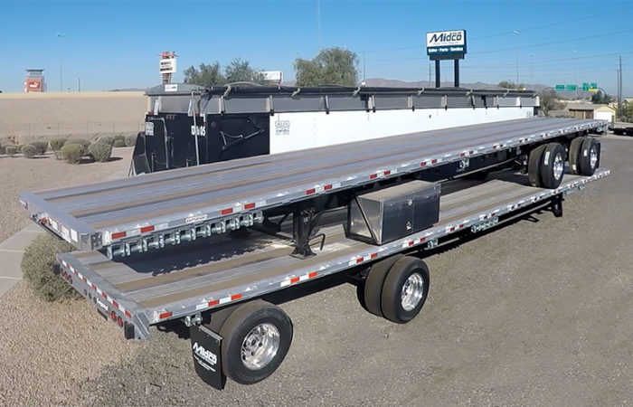 Manac Combo Flatbed Trailers