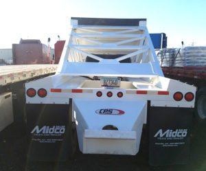 used 2017 belly dump trailer