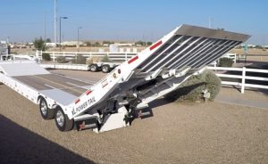 Hydraulic Tail Gooseneck Trailers