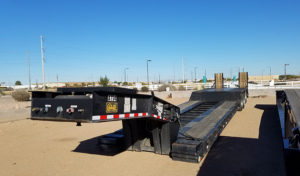 Used Heavy Haul Equipment Trailers