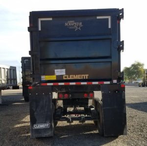 used Clement Scrapstar end dump