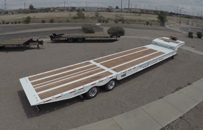 landoll 930 traveling tail trailer