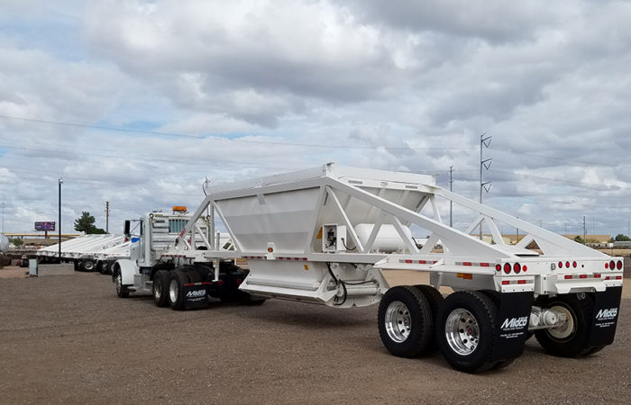 Ranco belly dump trailers for sale