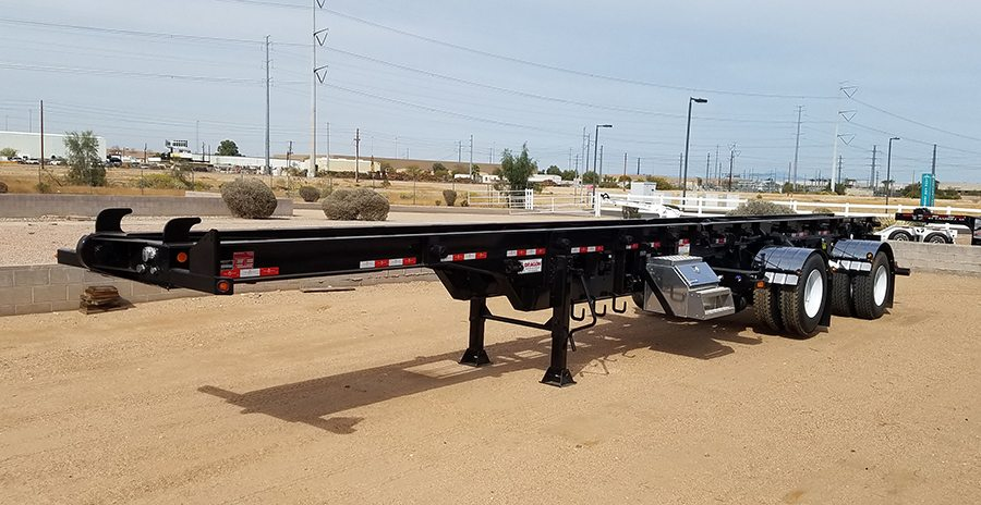 Container Roll Off Trailer - Dragon TCT 2 Container ...