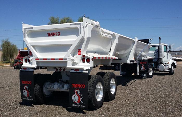 Ranco LW30-38 end dump trailer