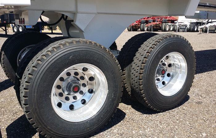 Ranco end dump aluminum wheels