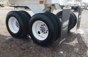 Ranco end dump steel wheels