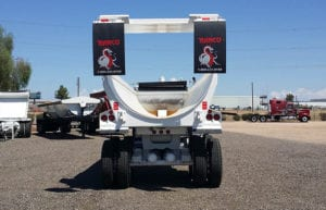 Ranco end dump high lift tailgate