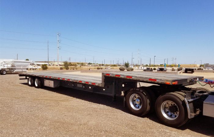 used 53 foot drop deck trailers
