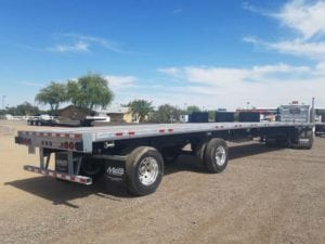 manac 53 foot flatbed