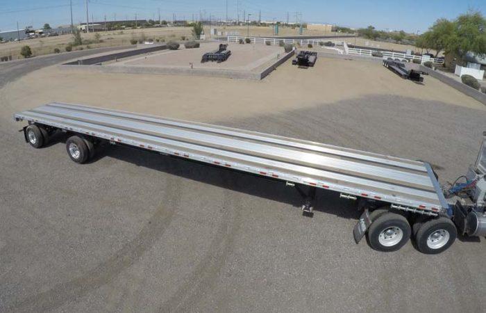 Manac 53 x 102 combo flatbed trailer