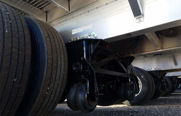 Reitnouer Maxmiser trailer suspension