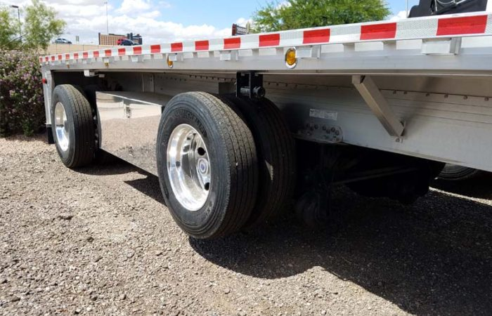 Reitnouer flatbed lift axle