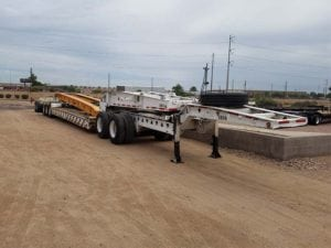 used heavy haul lowboys