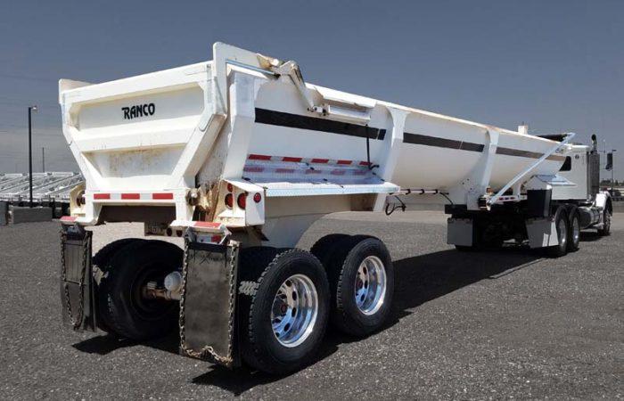 used ranco LW30-38 end dump trailer
