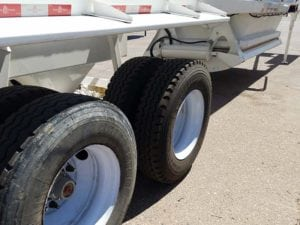 used ranco bottom dump trailer