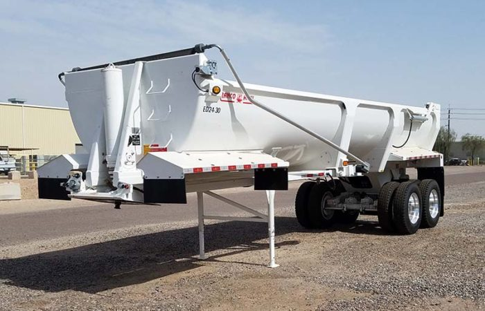 Ranco ED24-30 end dump trailer