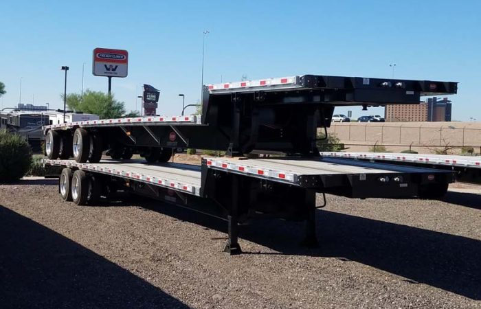 Dorsey 48 ft drop deck trailer