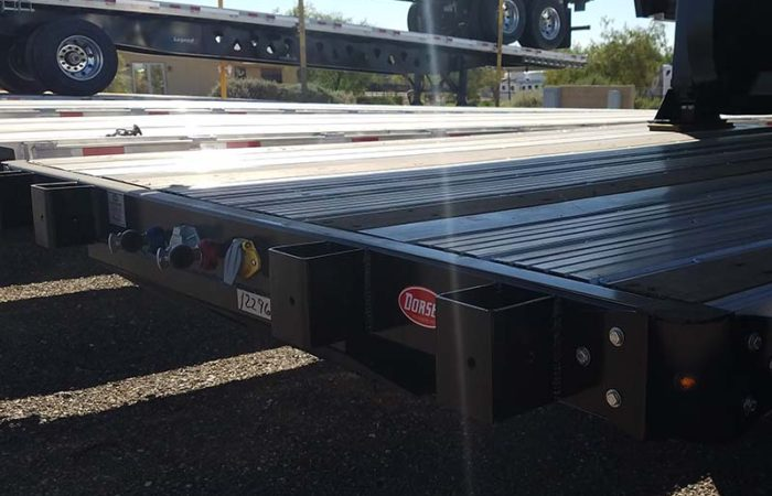 Dorsey 53' drop deck trailer
