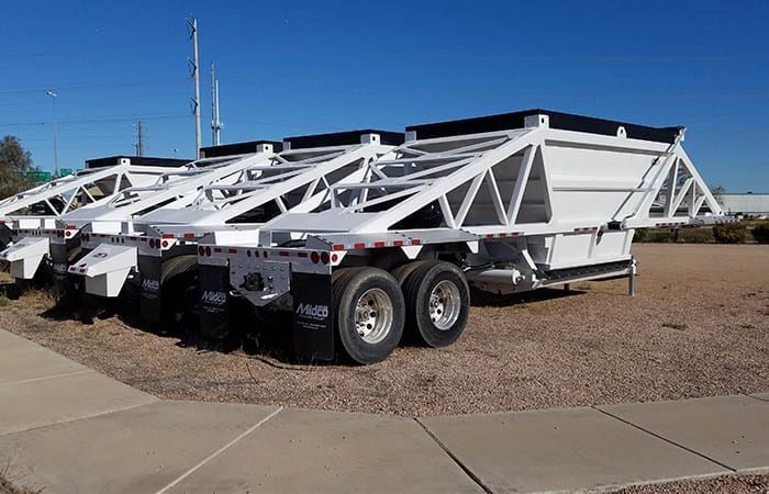 CPS belly dump trailers