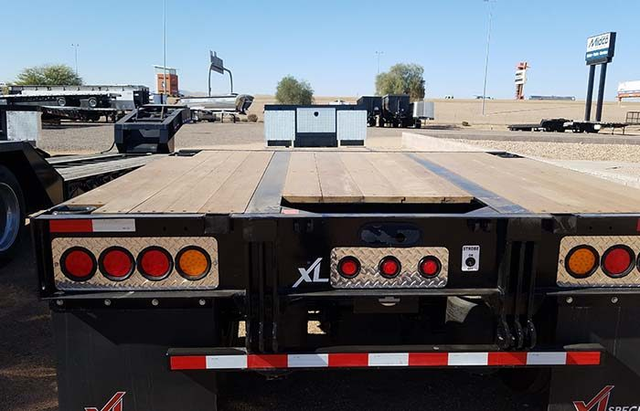 xl specialized double drop trailer
