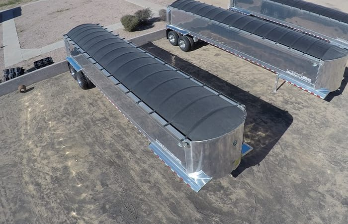 Armor Lite aluminum end dump