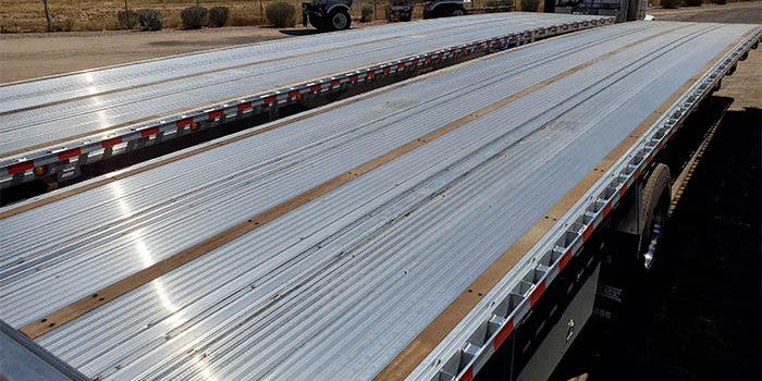 aluminum flatbed deck