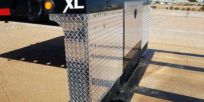 XL Specialized double drop trailer
