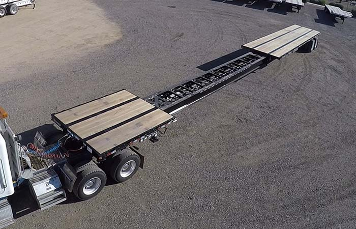 Cargo Van For Sale >> 2019 Manac Extendable Flatbed - Stretches 48' to 80' | Midco Sales