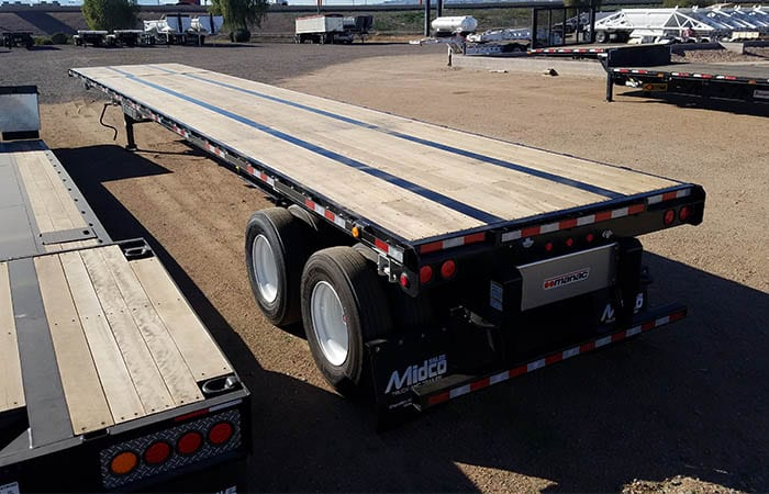 2019 Manac Extendable Flatbed Stretches 48 To 80