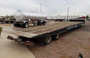 used Landoll 660 traveling axle trailer