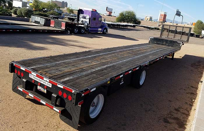 transcraft drop deck trailer