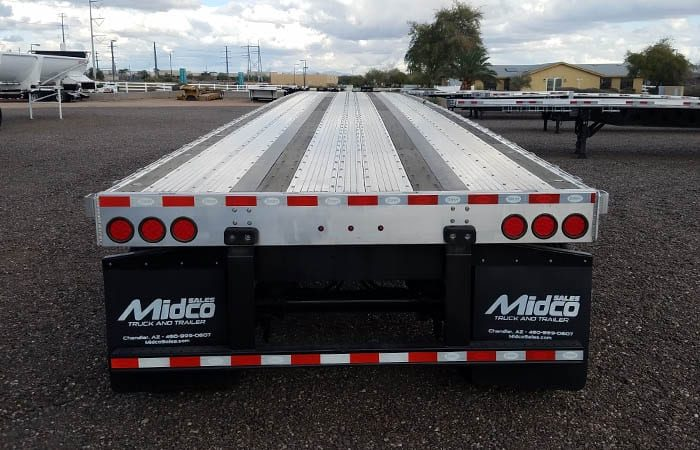 dorsey 48 ft combo flatbed trailer