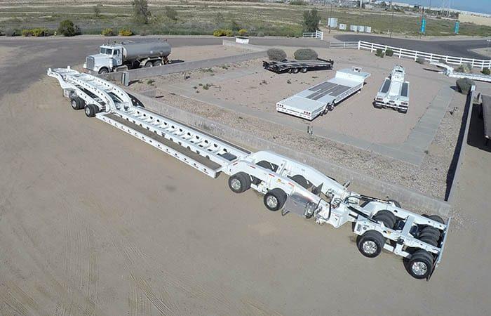 aspen 85 ton lowboy booster jeep