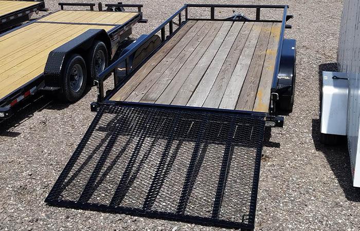 utility trailer ramp