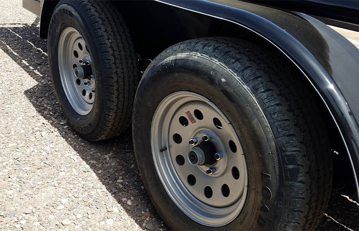 Doolittle trailer wheels
