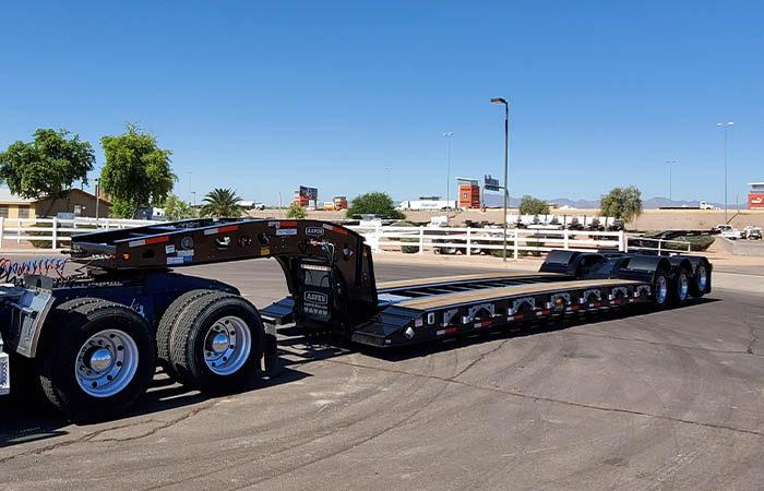 aspen 55 ton 60 ton lowboy