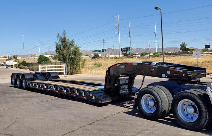 Aspen heavy haul trailer