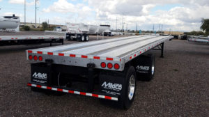 Dorsey combo giant flatbed trailer